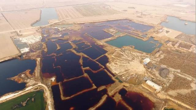 【重磅】华北被指现170000平方米工业污水渗坑