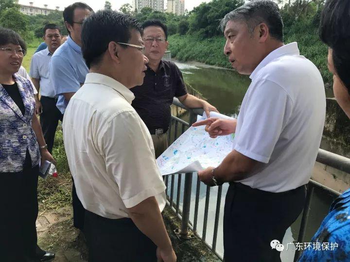 重磅|广东副省长密集暗访水污染治理工作
