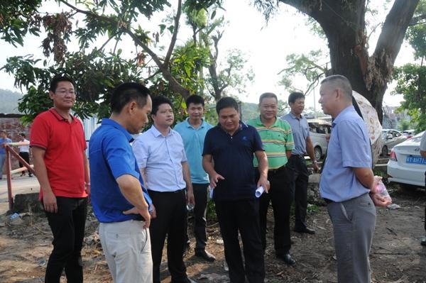"""珠海市环境保护局联合香洲区扎实做好""""双节""""安全检查"""