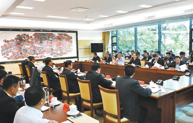 李干杰在广东省调研时强调 健全生态环境治理体系
