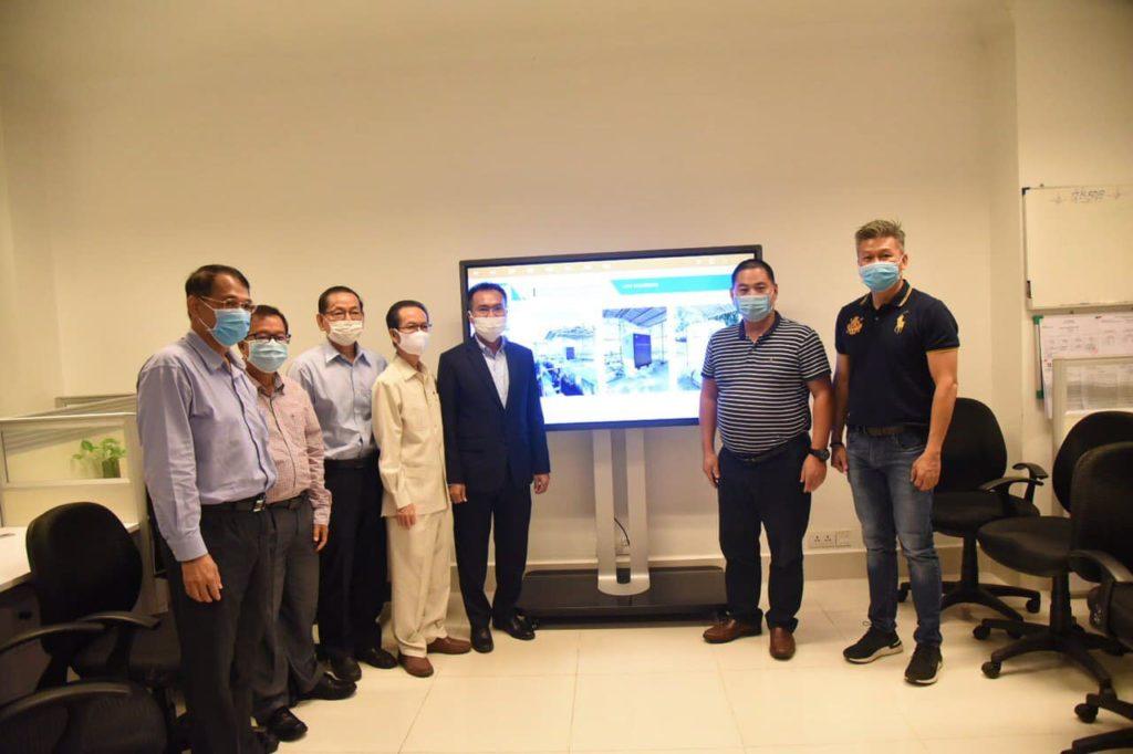 """柬埔寨国家环境部""""污染源在线监测信息平台""""正式上线"""